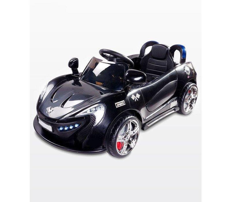 Elektrische kinderauto met accu - Aero zwart