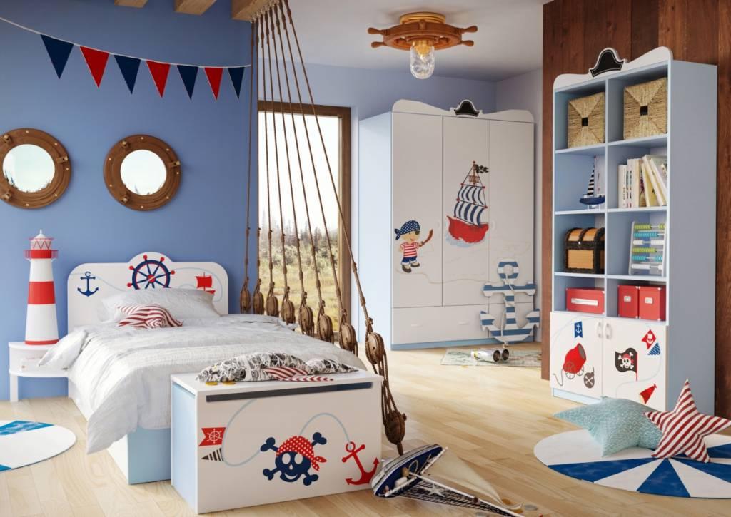 Kinderkamer Kinderkamer Bedden : Complete kinderkamer piraten baby en kinderwereld