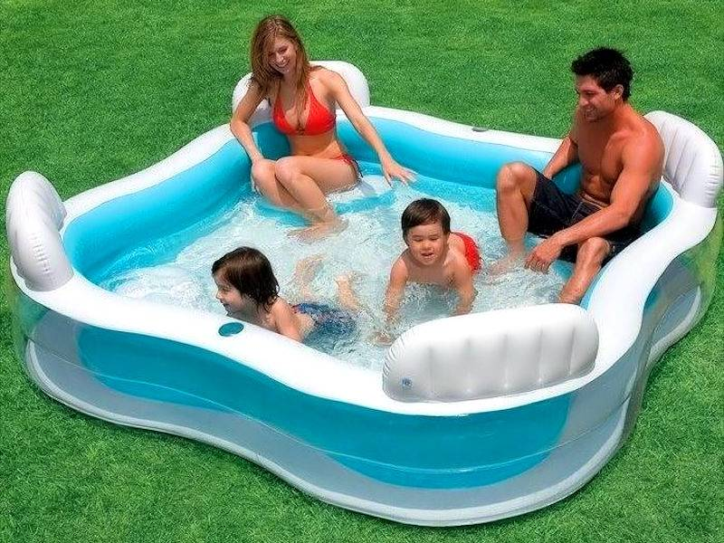 Opblaasbaar zwembad - Maak de zomer nog leuker!
