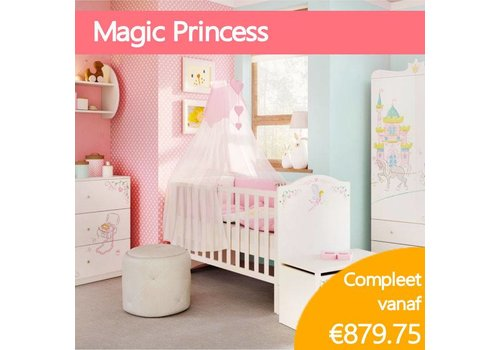 Complete babykamer - Magic Princess