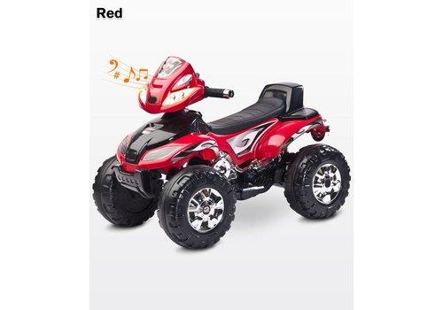Elektrische kinderquad Cuatro - rood
