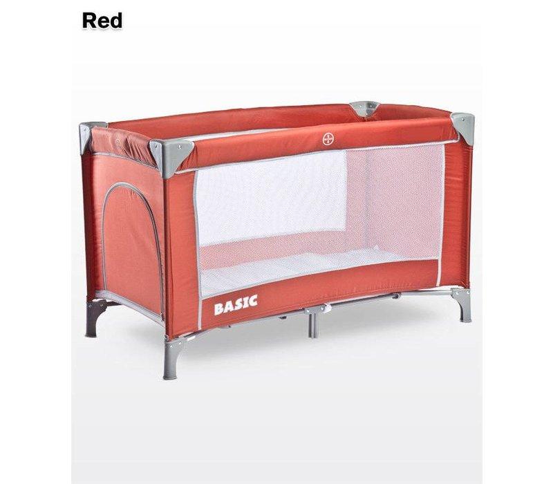 Baby logeerbedje Basic - rood