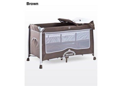 Baby logeerbedje DeLuxe bruin