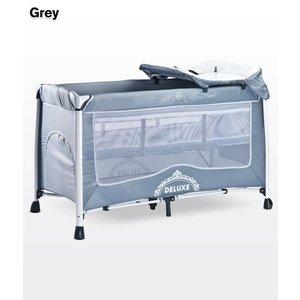 Baby logeerbedje DeLuxe grijs