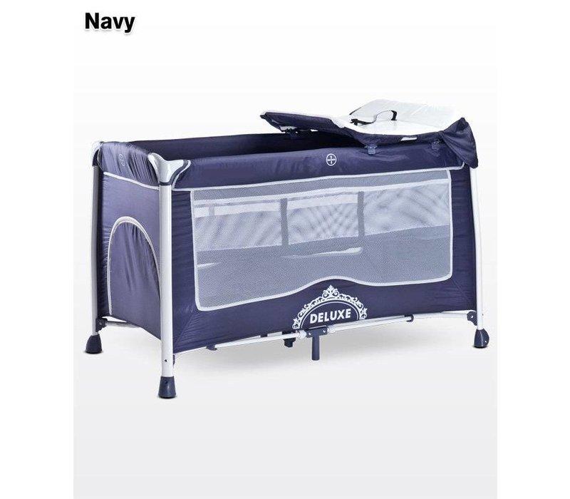Baby logeerbedje DeLuxe navy