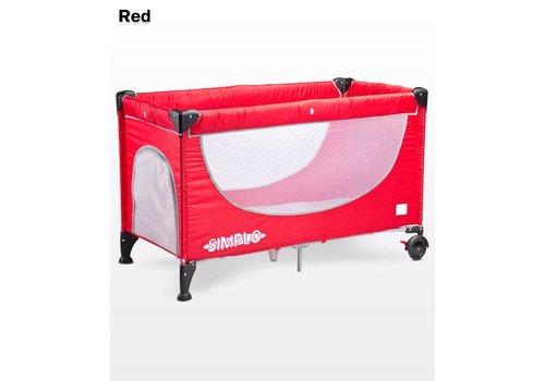 Baby logeerbedje Simplo - rood