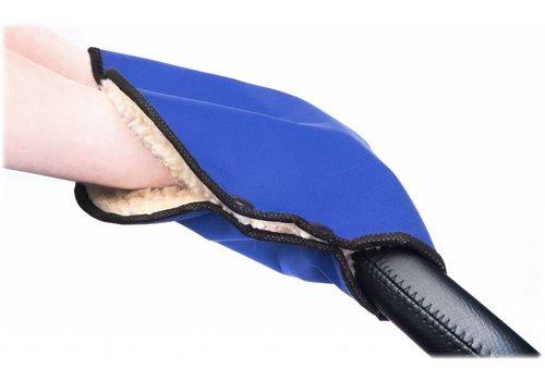 Handwarmer voor de kinderwagen - blauw