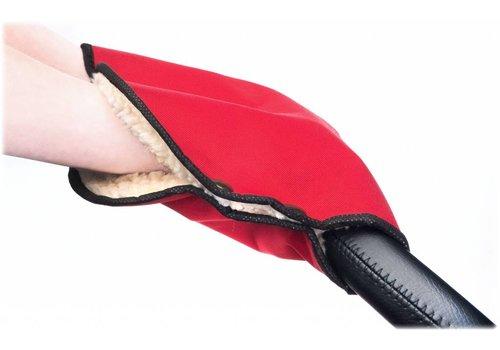 Handwarmer voor de kinderwagen - rood