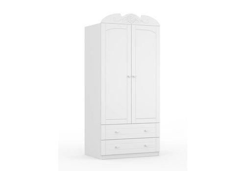 Kledingkast Bianco Fiori 90