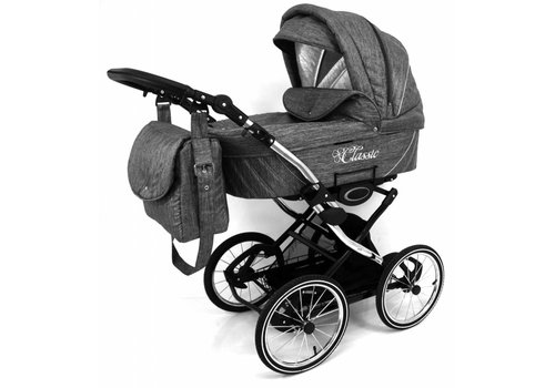Retro kinderwagen 3 in 1 - Classic L-01