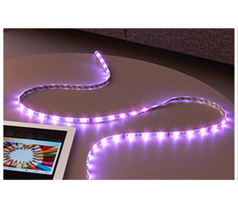 White and Color Lightstrip Plus Uitbreiding 1m