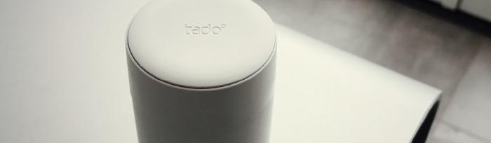 Tado slimme radiatorknop los op tafel