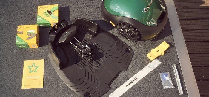 Hoe installeer ik mijn Robomow RX?
