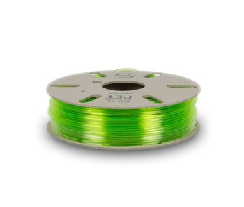 Refil Recycled PET filament from green bottles
