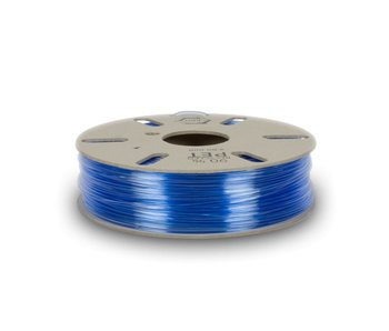 Refil Recycled PET filament from blue bottles