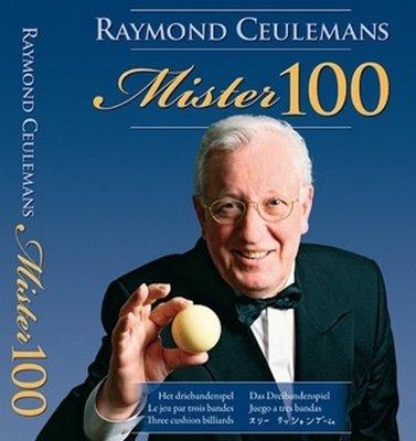 Afbeelding van Boeken, drukwerk en dvd Biljartboek Mister 100 Raymond Ceulemans