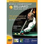 Boeken, drukwerk en dvd Biljart DVD Ronchin 2003 wereldkampioenschap kader 47/2