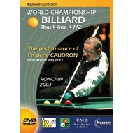 Boeken, drukwerk en dvd Billiard DVD Ronchin 2003, world championships 47/2