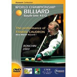 Biljart DVD Ronchin 2003 wereldkampioenschap kader 47/2
