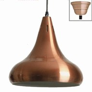 Verlichting Copper lamp Red matt