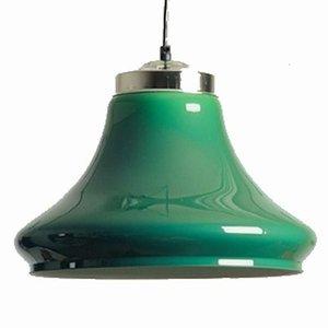 Lamp clock model transparent green