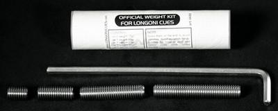 Afbeelding van Keu onderdelen Biljart keu Longoni gewichten set