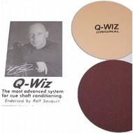 Keu onderhoud Billiard cue Q-Wiz Ralf Souguet polishing aid