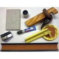 Schuur en slijp Billiard cue repair kit VDB Luxury