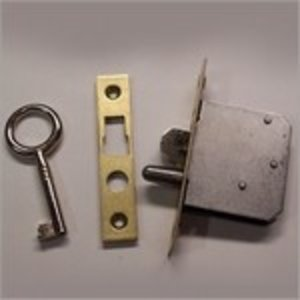 Lock for D & K clock with two keys