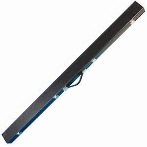 Snooker koffer 3/4 zwart luxe lengte 125 cm