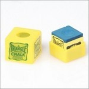 Triangel personal chalk holder with chalk