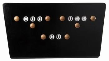 Afbeelding van Van den Broek biljarts 5ball score bord