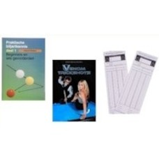 Billiards books, DVDs and printed materials