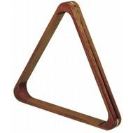 Triangels en balschalen Triangel pool 57.2mm hout/messing deluxe