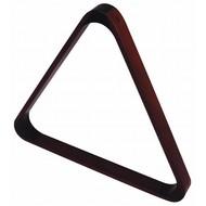 Triangels en balschalen Triangel hout mahogany coloured