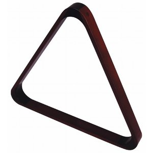 Triangel hout mahogany coloured