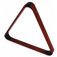 Triangels en balschalen Triangel hout dark maple coloured
