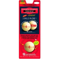 ARAMITH Q-TRU oefenbal snooker, 52,4 mm