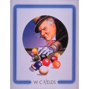 Poster - WC FIELDS TOP HAT  76x61