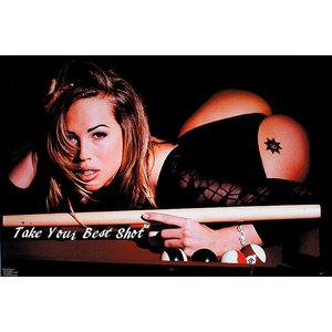 Poster - TAKE YOUR BEST SHOT 56x87