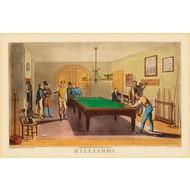 BUFFALO Poster Vintage - Salle de Billard