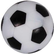 BUFFALO Voetbalballetjes met profiel zwart/wit 36mm