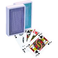 LION-GAMES Poker kaarten Lion 100% plastic, Bridge