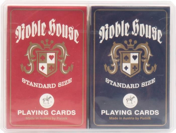 Afbeelding van PIATNIK Speelkaarten Piatnik Noble House dubbel