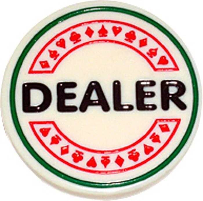 Afbeelding van overige spelen poker Dealer Button