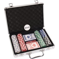 overige spelen poker POKERSET ALU CASE 200 DICE RND