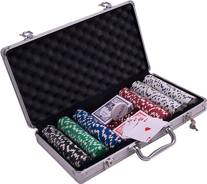 Afbeelding van overige spelen poker Poker Koffer aluminium 300 Dice