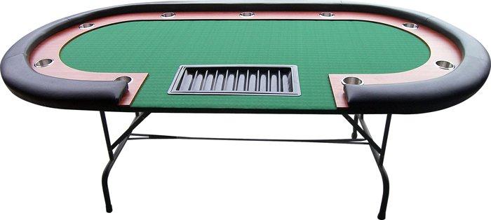 Afbeelding van overige spelen poker Pokertafel High Roller zwart