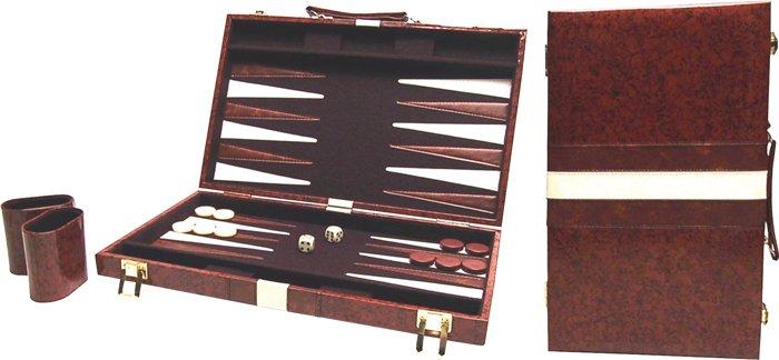 Afbeelding van Overige spelen Backgammon 46x28 cm populair