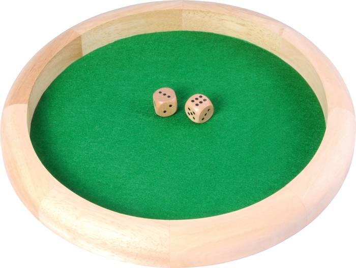 Afbeelding van Overige spelen Dobbelpiste 29cm incl. 2 db st
